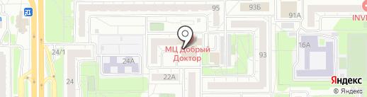 Кар Сервис на карте Челябинска
