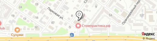 Стоматологическая практика на карте Челябинска