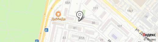 Элис на карте Челябинска