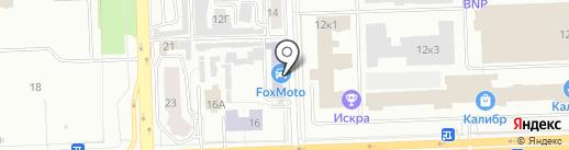 FoxMoto на карте Челябинска