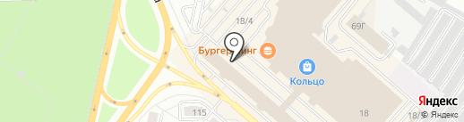 Мебельери на карте Челябинска