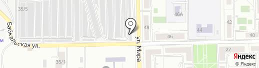 Спец на карте Челябинска