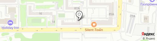Qiwi на карте Челябинска