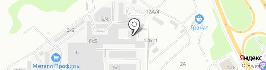Альфа Пласт на карте Челябинска