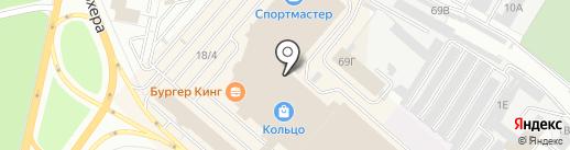 ТВОЕ на карте Челябинска