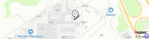 Сталькомплект на карте Челябинска