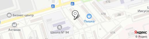 Желдоринтеграция на карте Челябинска