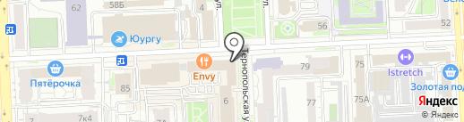 Уральский Машиностроительный Центр на карте Челябинска
