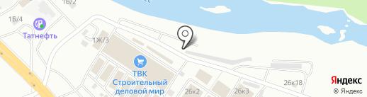 Торговая компания на карте Челябинска