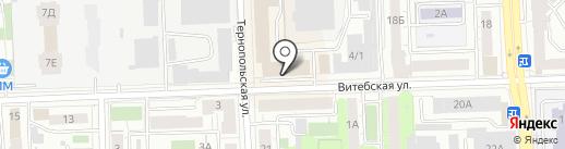 Тамада-74 на карте Челябинска