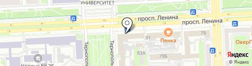 Пронап-серт, АНО ДПО на карте Челябинска