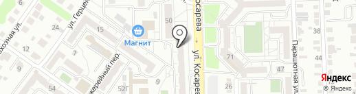 Айсберг на карте Челябинска