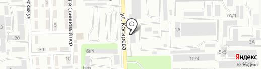 УКДС на карте Челябинска