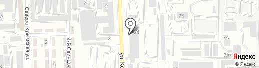 АВТО РИНГ на карте Челябинска