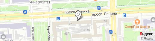 Zefir на карте Челябинска