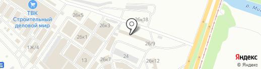 Абсолют на карте Челябинска