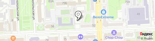 Техно-Центр на карте Челябинска
