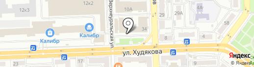 СтройТранс на карте Челябинска
