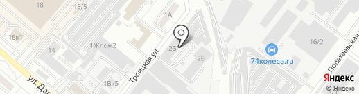 Лаборатория звука на карте Челябинска