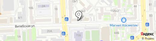 Вим на карте Челябинска