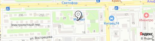 ЛОГОТЕК ТРЕЙД на карте Челябинска