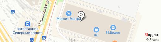 Marilyn на карте Челябинска