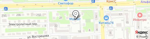 My Fit на карте Челябинска