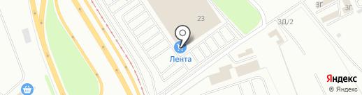 Постирай на карте Челябинска