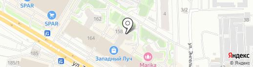 Ремонтно-строительная организация №1 на карте Челябинска