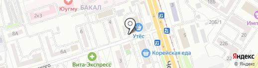 ГлавКредит-Урал на карте Челябинска