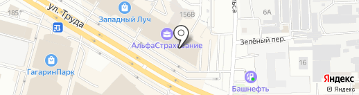 CAPAROL CENTER на карте Челябинска