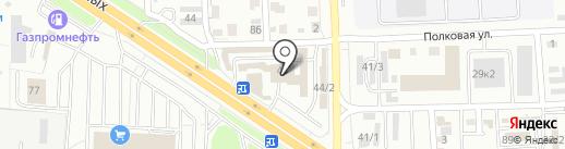 Автодом на карте Челябинска