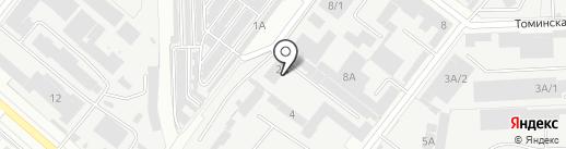 Автостекло Магнитекс на карте Челябинска