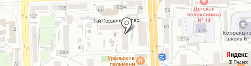 Банковский Советник Челябинск на карте Челябинска