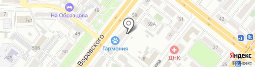 Diron на карте Челябинска