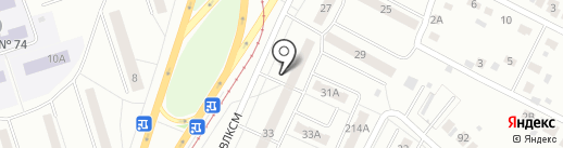 ЯПОШКА на карте Челябинска