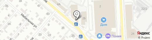 МАN на карте Челябинска
