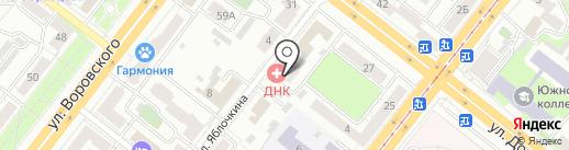 Судебная экспертиза и оценка на карте Челябинска