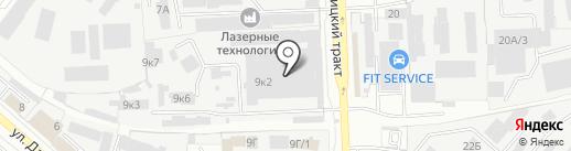Дизель-Центр на карте Челябинска
