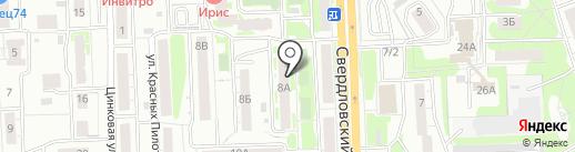 ТД СВМ на карте Челябинска