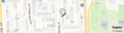 НОРМА ГРУПП на карте Челябинска