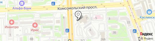 Буфет на карте Челябинска