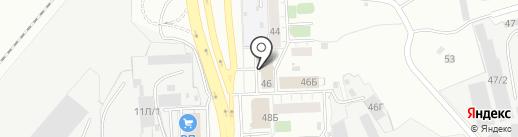 Меркурий-МП на карте Челябинска