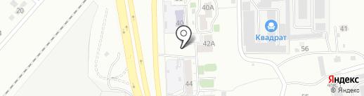 ТНМК на карте Челябинска