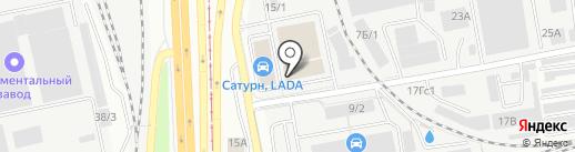 МС-Снаб на карте Челябинска