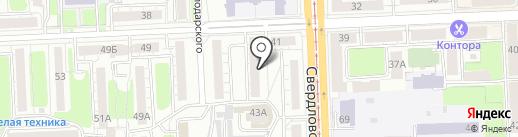IT QS на карте Челябинска