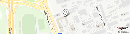 Инвестиционная венчурная компания на карте Челябинска