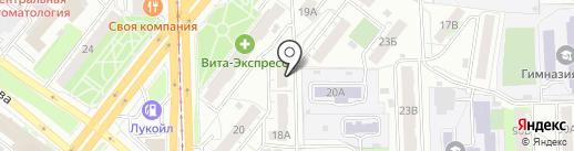 Tianshi на карте Челябинска