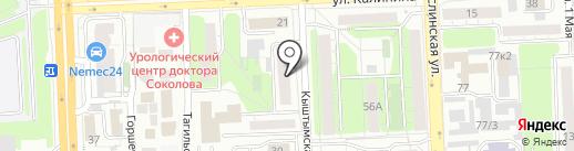 Мжко-Лифт на карте Челябинска