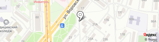 Цветочный магазин на карте Челябинска